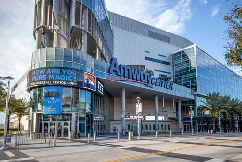 Amway Center in Orlando, FL
