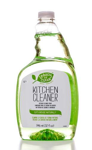 Bottle of Amway kitchen cleaner