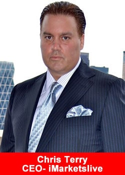 Picture of Chris Terry - the founder of iMarketsLive