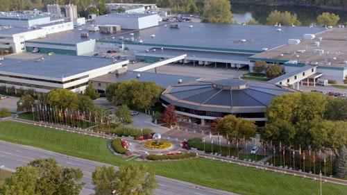 Amway headquarters in Ada, Michigan