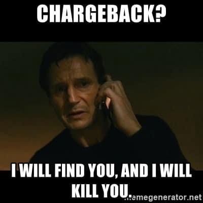 Chargeback meme