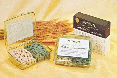 original Nutrilite supplements