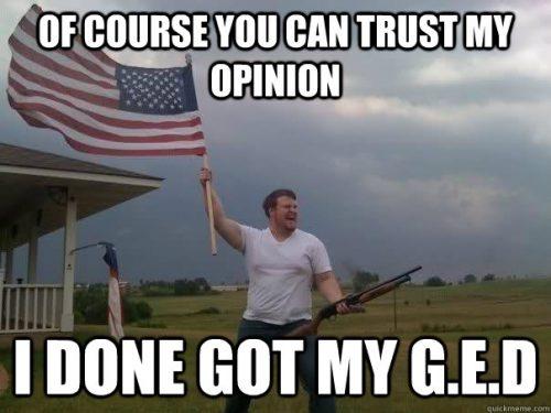 G.E.D. meme