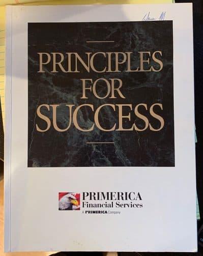 Primerica rep training booklet