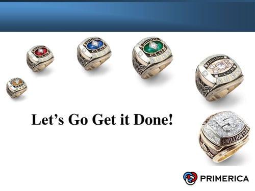 Primerica level rings