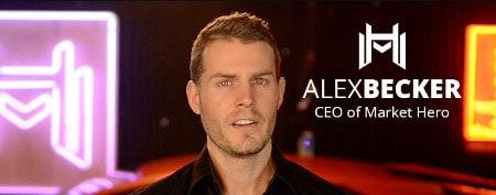 Alex Becker, CEO of Market Hero