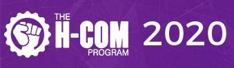 H-COM 2020 logo