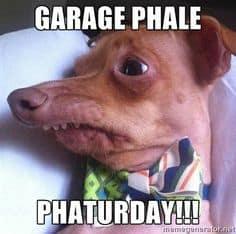 Tuna garage sale meme