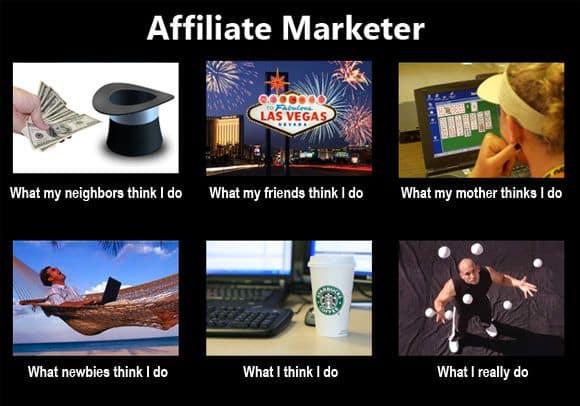 affiliate marketer meme