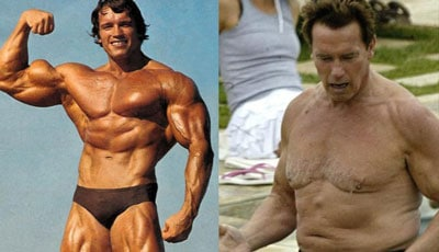 Young Arnold vs Old Arnold