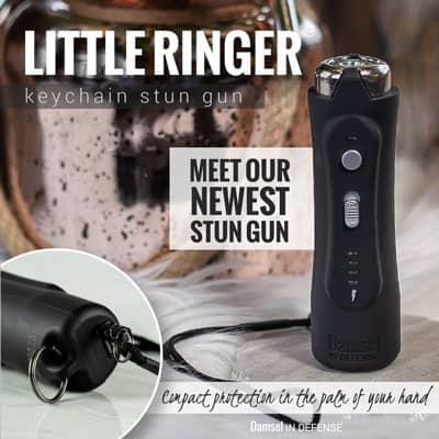 Little Ringer keychain stun gun