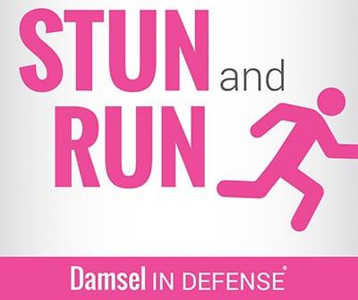 Stun and Run -- Damsel In Defense