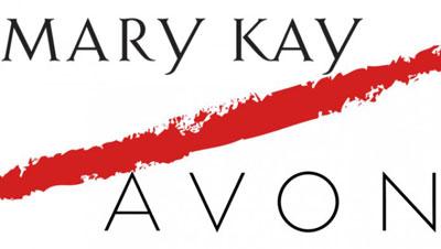 Avon Mary Kay logos