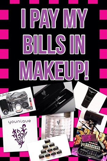 pay my bills in makeup