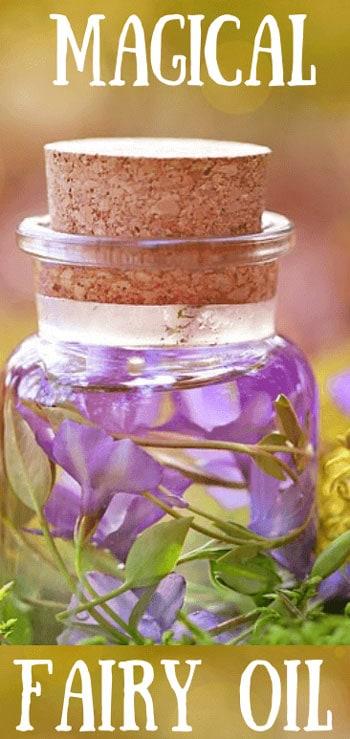 magical fairy oil bottle