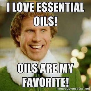 I love essential oils meme