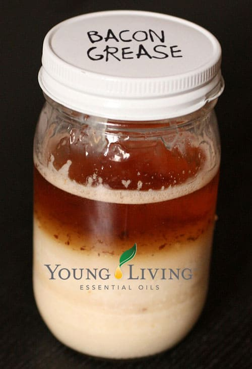 Young Living bacon grease