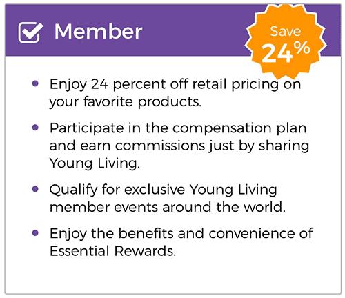 Young Living membership info