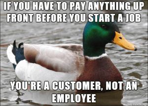 customer not employee meme
