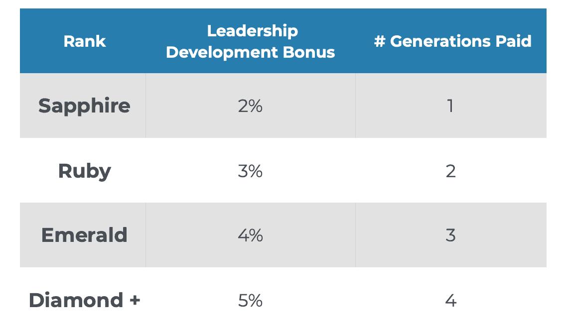iBuumerang leadership development bonus