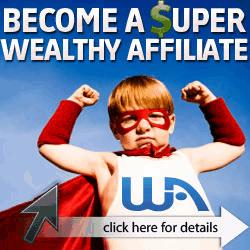 Super Wealthy Affiliate kid