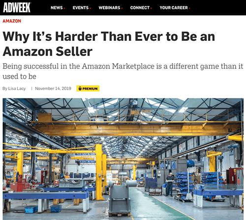 harder than ever Amazon seller