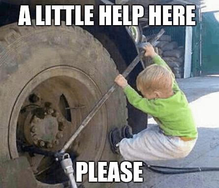 a little help here