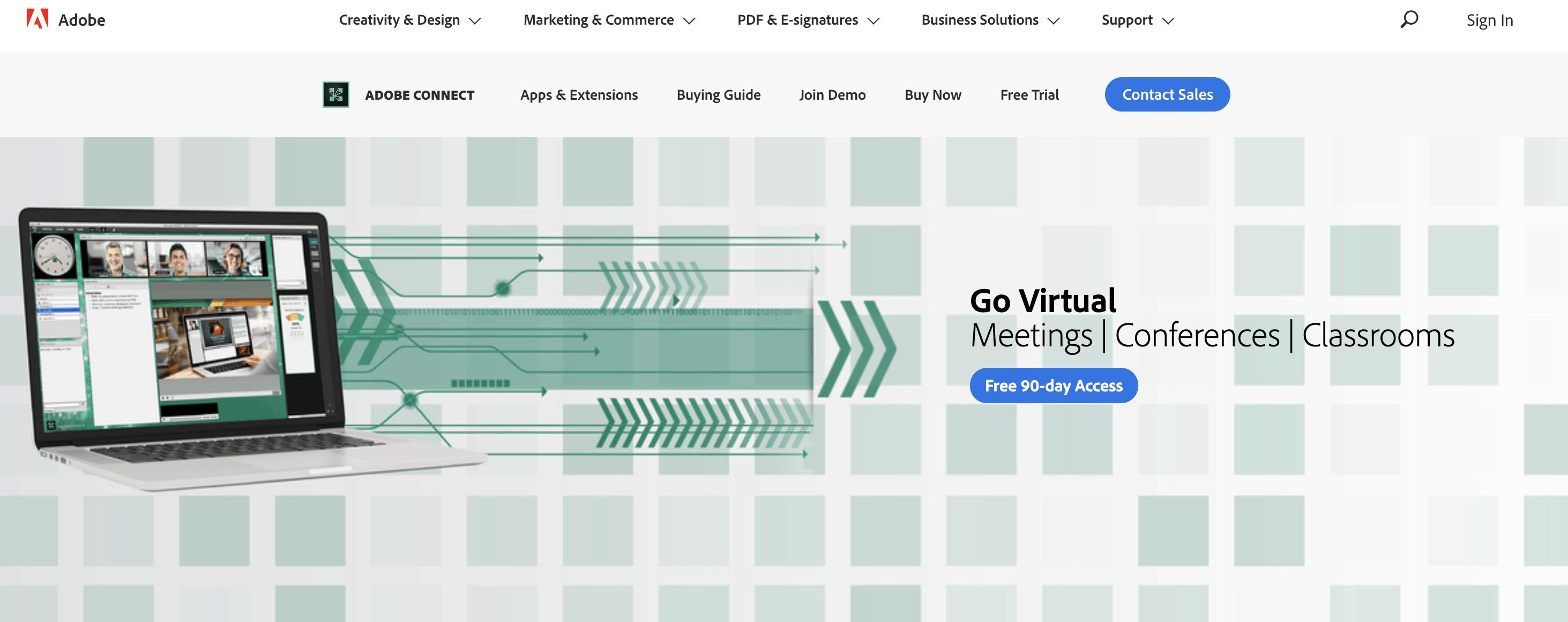 Adobe Connect platform