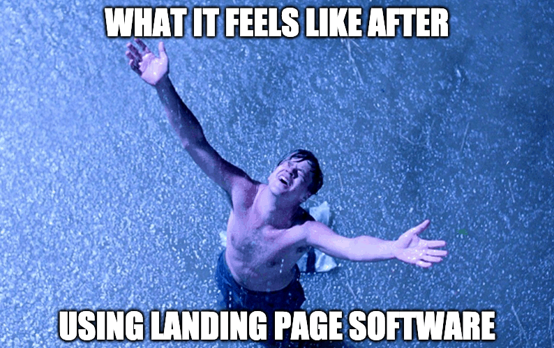 after landing page builders