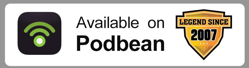 available on Podbean