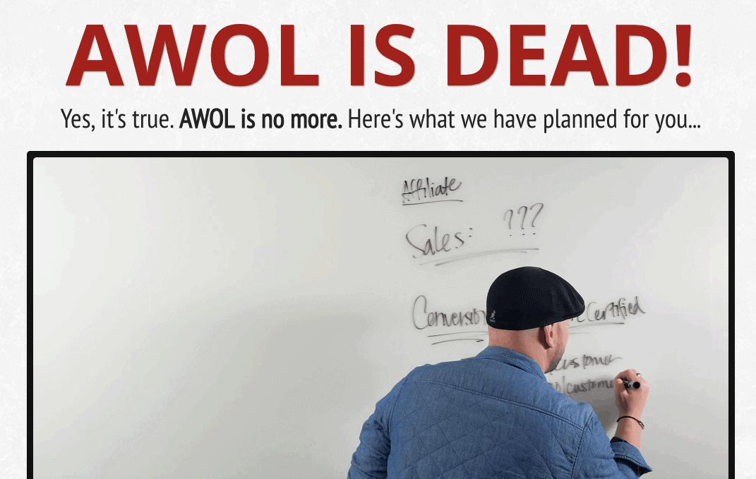 awol is dead