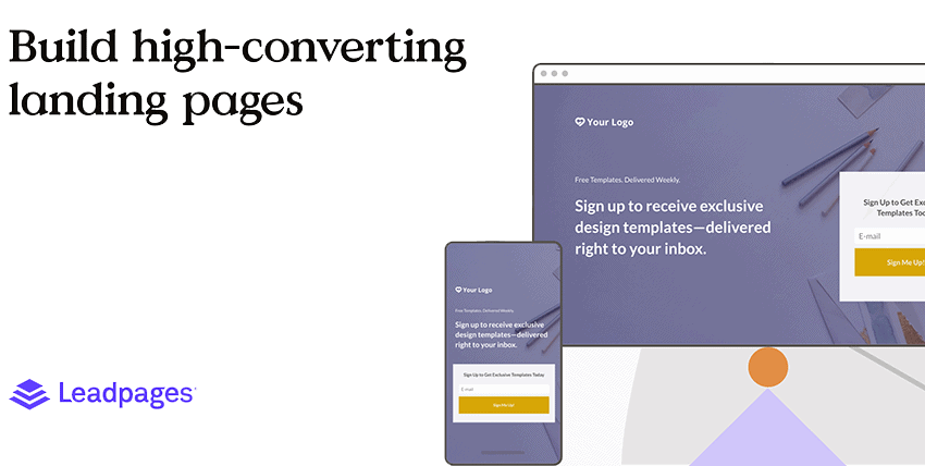 build high-converting landing pages
