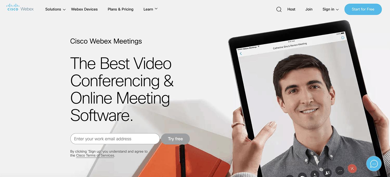 Cisco Webex platform