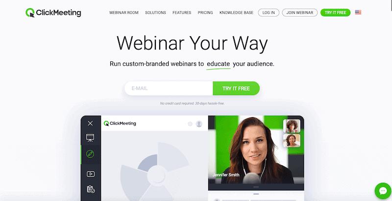 clickmeeting platform