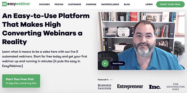 EasyWebinar platform
