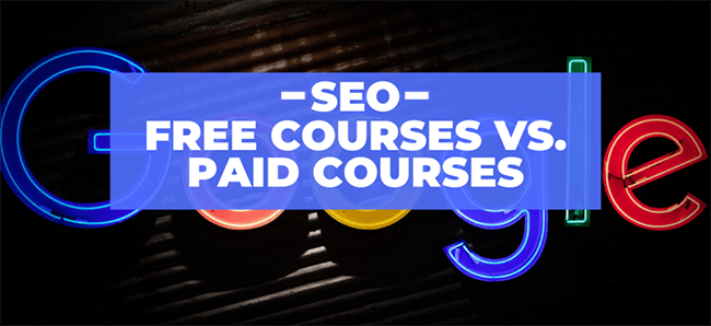free vs paid seo courses