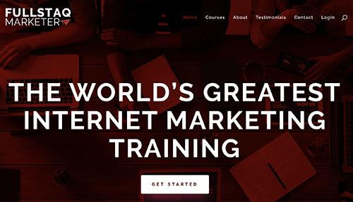 fullstaq marketer homepage