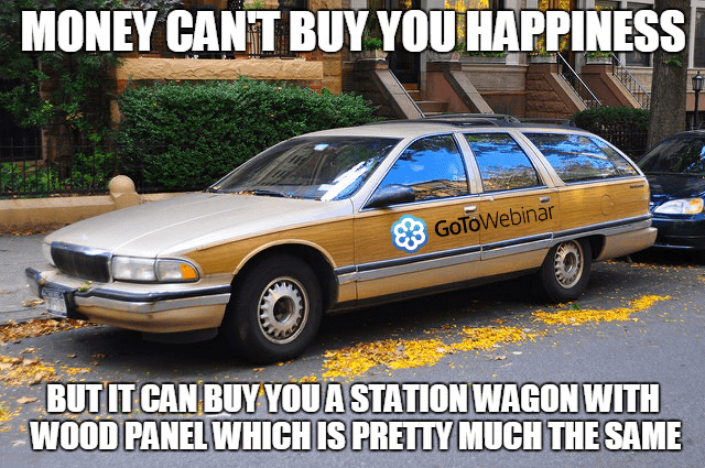 GoToWebinar station wagon