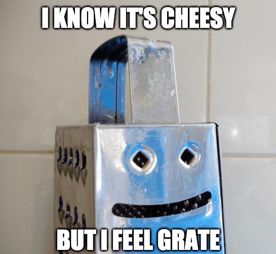 i feel grate