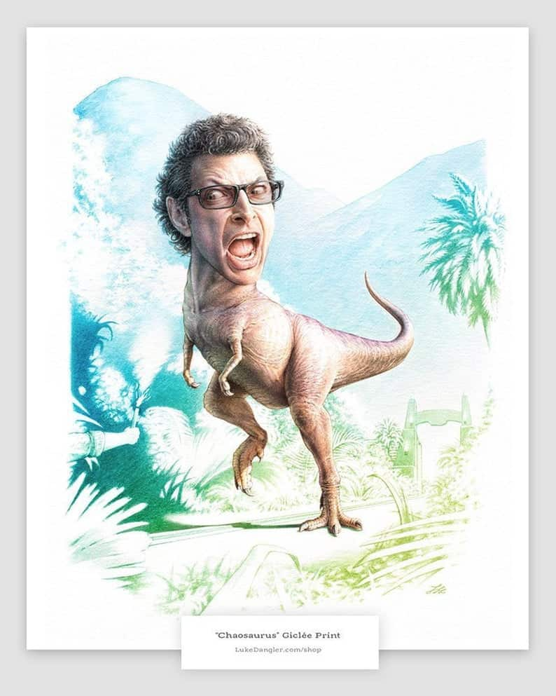 Jeff Goldblum dinosaur
