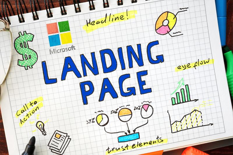 landing page brainstorm