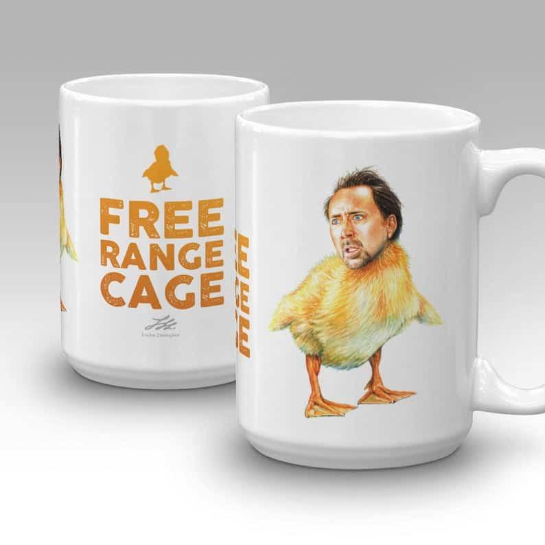 Nic Cage mug