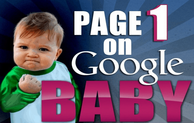 page 1 on google
