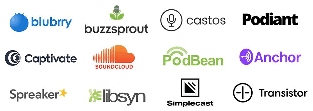podcast hosting companies