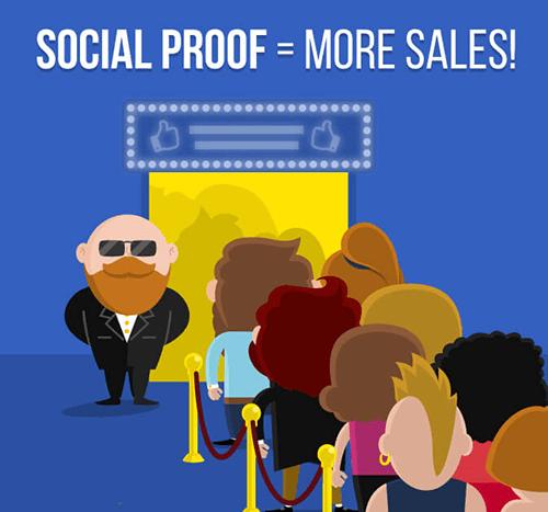 social proof more sales