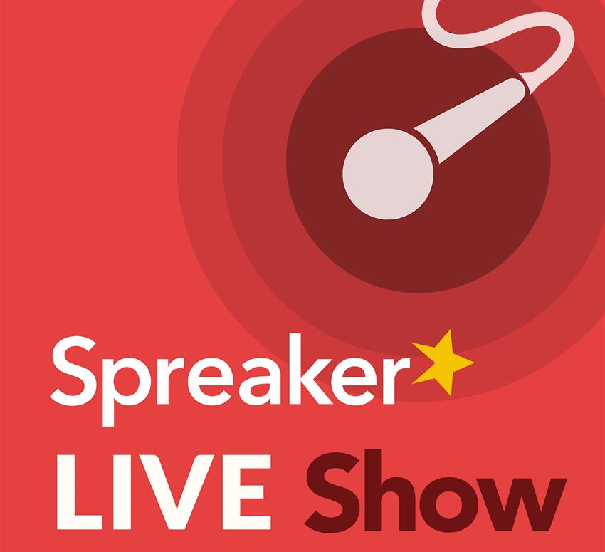 Spreaker live podcasting