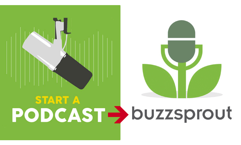 start a podcast with Buzzsprout