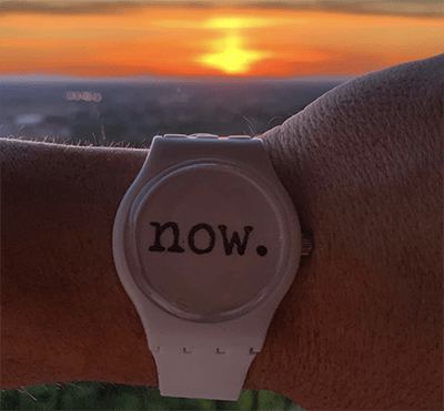 time is now