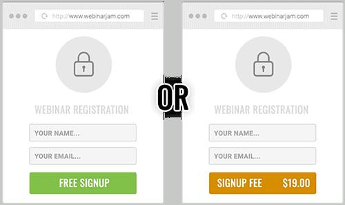 WebinarJam free or paid