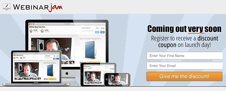 WebinarJam launch